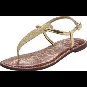 sam edelman gold gigi sandal